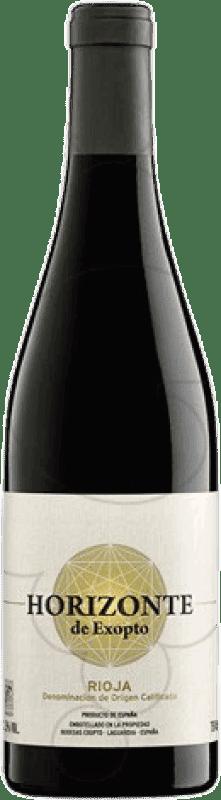 24,95 € Free Shipping | Red wine Horizonte de Exopto Crianza D.O.Ca. Rioja The Rioja Spain Tempranillo Magnum Bottle 1,5 L