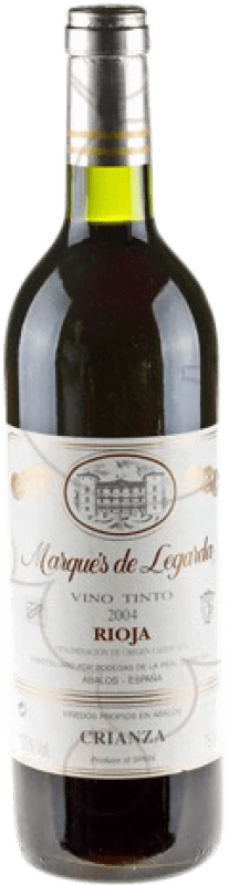 9,95 € | Red wine Marqués de Legarda Crianza D.O.Ca. Rioja The Rioja Spain Bottle 75 cl