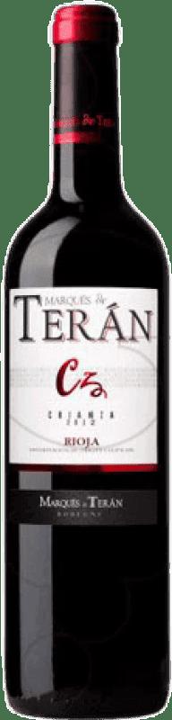 18,95 € Free Shipping | Red wine Marqués de Terán Crianza D.O.Ca. Rioja The Rioja Spain Tempranillo Magnum Bottle 1,5 L