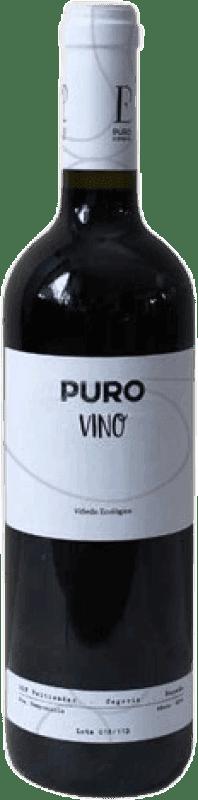 7,95 €   Red wine Puro vino Ecológico Crianza D.O.P. Vino de Calidad de Valtiendas Castilla y León Spain Bottle 75 cl