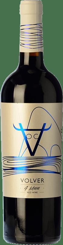 8,95 € Envío gratis | Vino tinto Volver Roble D.O. La Mancha Castilla la Mancha y Madrid España Tempranillo Botella 75 cl