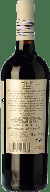 8,95 € Free Shipping   Red wine Volver Roble D.O. La Mancha Castilla la Mancha y Madrid Spain Tempranillo Bottle 75 cl