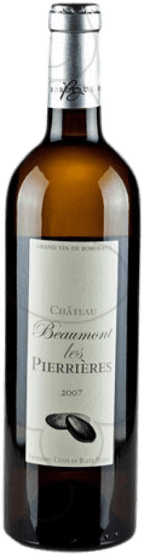 9,95 € | White wine Château Beaumont Les Pierrieres Crianza A.O.C. Bordeaux France Bottle 75 cl