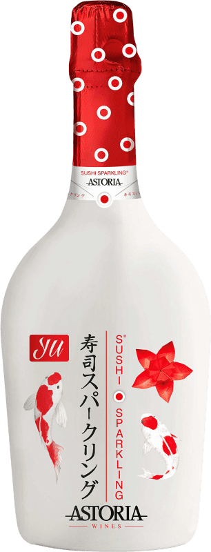 9,95 € Free Shipping   White sparkling Astoria Yu Sushi Sparkling Extra Brut Joven Otras D.O.C. Italia Italy Glera, Prosecco Bottle 75 cl