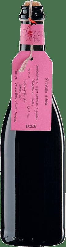 7,95 € Envío gratis | Espumoso tinto Toso d'Acqui Otras D.O.C. Italia Italia Brachetto Botella 75 cl
