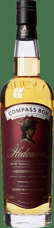 92,95 € Free Shipping | Whisky Single Malt Compass Box Hedonism Reserva United Kingdom Bottle 70 cl