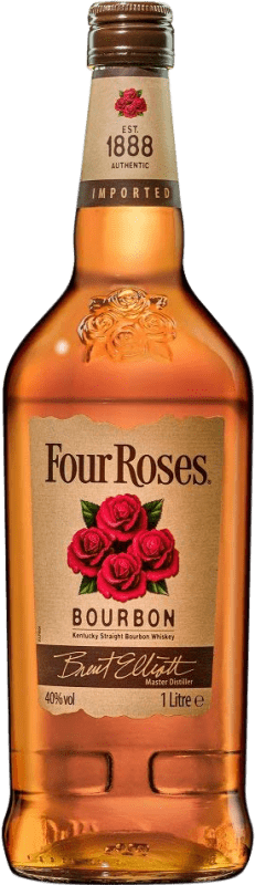 19,95 € Envío gratis   Bourbon Four Roses Estados Unidos Botella Misil 1 L