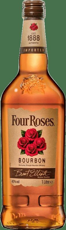 19,95 € Envoi gratuit | Bourbon Four Roses États Unis Bouteille Missile 1 L