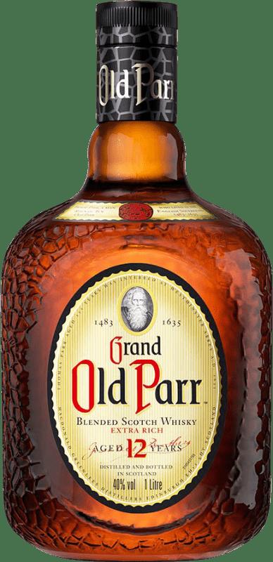 41,95 € Envoi gratuit | Whisky Blended Old Parr 12 Años Reserva Royaume-Uni Bouteille Missile 1 L