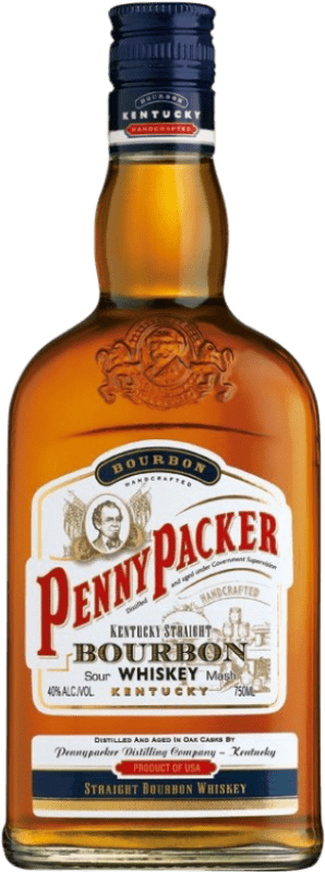 12,95 € | Bourbon Penny Packer United States Bottle 70 cl