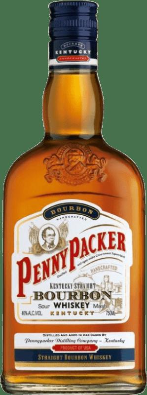 12,95 € 免费送货   波旁酒 Penny Packer 美国 瓶子 70 cl