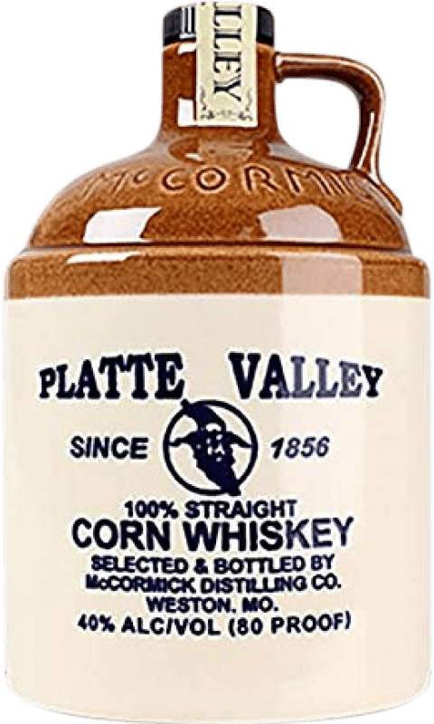 27,95 € Free Shipping | Whisky Blended Platte Valley Corn Reserva United States Bottle 70 cl