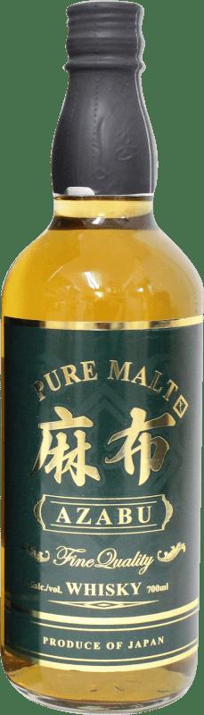 64,95 € Envío gratis | Whisky Single Malt Azabu Japón Botella 70 cl