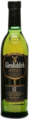 18,95 € | Whisky Single Malt Glenfiddich 12 Años United Kingdom Half Bottle 50 cl