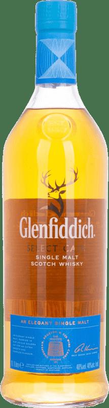 46,95 € Free Shipping | Whisky Single Malt Glenfiddich Cask Collection United Kingdom Missile Bottle 1 L
