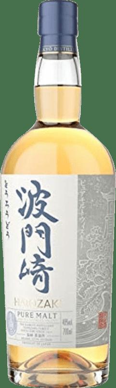 61,95 € 免费送货   威士忌单一麦芽威士忌 Hatozoki Pure Malt 日本 瓶子 70 cl