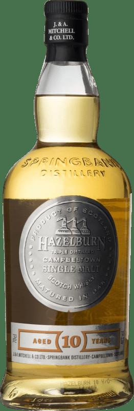 58,95 € 免费送货   威士忌单一麦芽威士忌 Hazelburn 10 Años 英国 瓶子 70 cl