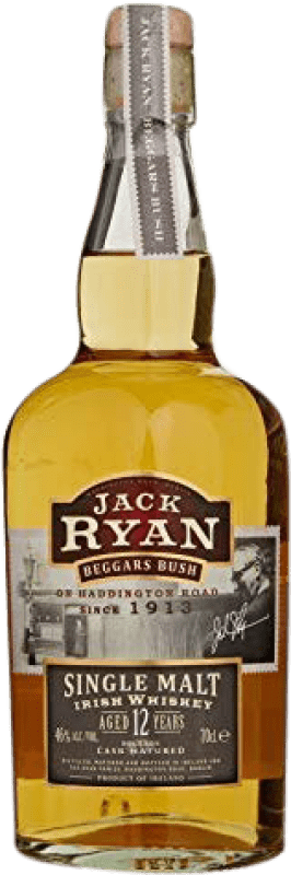 64,95 € Free Shipping | Whisky Single Malt Jack Ryan 12 Años Ireland Bottle 70 cl