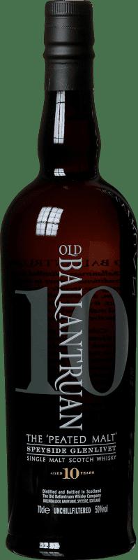 69,95 € 免费送货   威士忌单一麦芽威士忌 Old Ballantruan 10 Años 英国 瓶子 70 cl