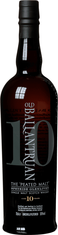69,95 € Envoi gratuit | Whisky Single Malt Old Ballantruan 10 Años Royaume-Uni Bouteille 70 cl