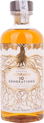 42,95 € Free Shipping | Cognac Ferrand 10 Generations France Half Bottle 50 cl