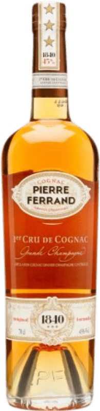 46,95 € Envío gratis | Coñac Ferrand Pierre 1er Cru Francia Botella 70 cl
