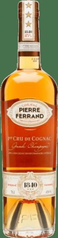 46,95 € 免费送货 | 科涅克白兰地 Ferrand Pierre 1er Cru 法国 瓶子 70 cl