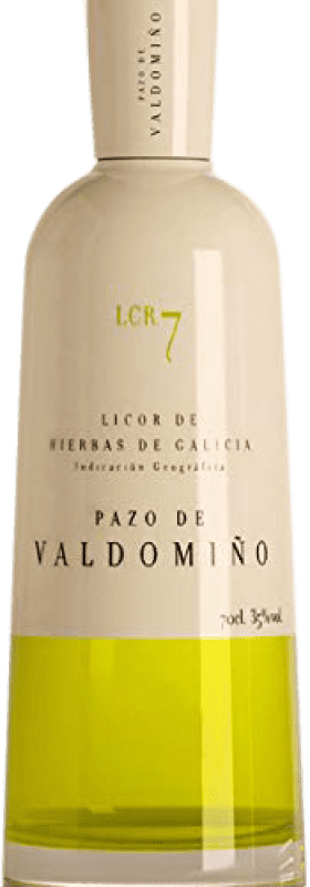 17,95 € Free Shipping | Herbal liqueur Pazo Valdomiño Spain Bottle 70 cl