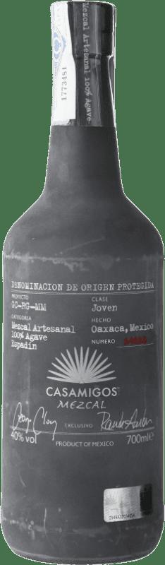 69,95 € Envío gratis | Mezcal Casamigos Mexico Botella 70 cl