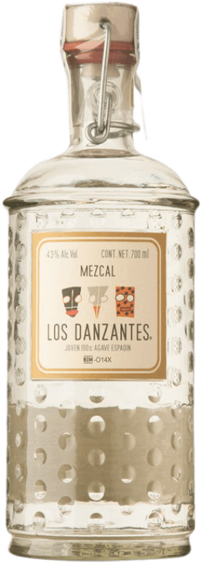 52,95 € Free Shipping | Mezcal Los Danzantes Blanco Mexico Bottle 70 cl