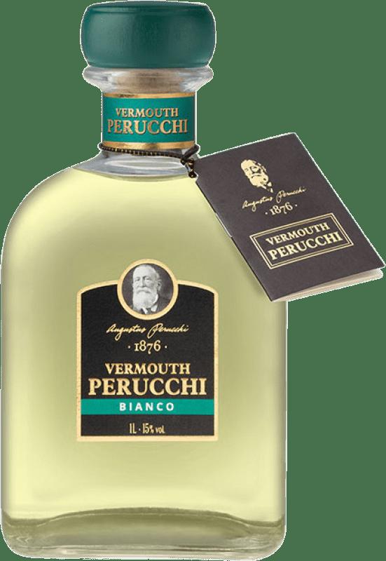 9,95 € Envío gratis | Vermut Perucchi España Botella Misil 1 L