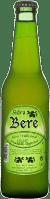 1,95 € 免费送货   苹果酒 Akarregi Txiki Bere 西班牙 Botellín Tercio 33 cl