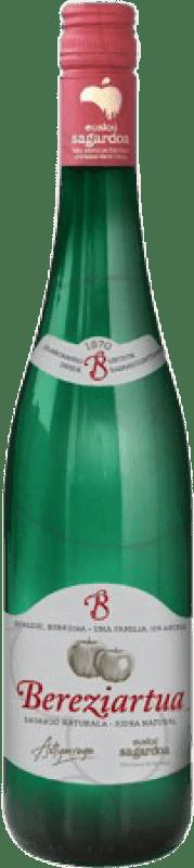 4,95 € 免费送货   苹果酒 Akarregi Txiki Bereziartua 西班牙 瓶子 75 cl