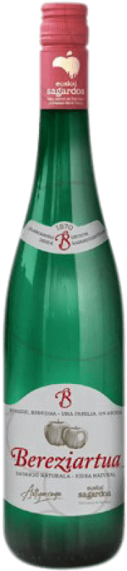 4,95 € Envío gratis | Sidra Akarregi Txiki Bereziartua España Botella 75 cl