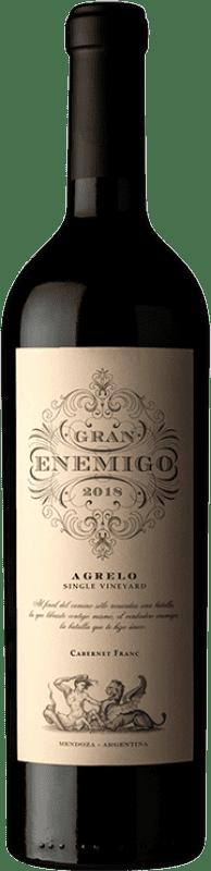 131,95 € Envío gratis | Vino tinto Aleanna Gran Enemigo Agrelo Argentina Cabernet Franc, Malbec Botella 75 cl