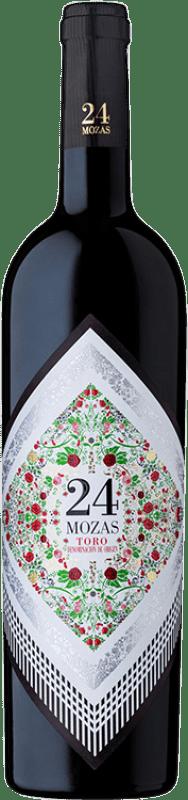 Envio grátis | Vinho tinto Divina Proporción 24 Mozas D.O. Toro Espanha Tinta de Toro Garrafa 75 cl