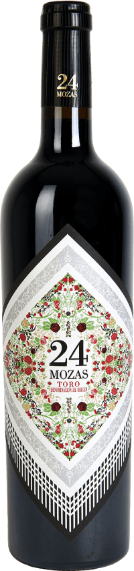 Vino tinto Divina Proporción 24 Mozas D.O. Toro España Tinta de Toro Botella 75 cl