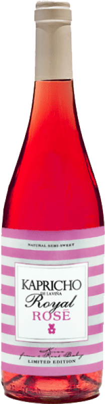 免费送货 | 玫瑰酒 Meoriga Kapricho Rosé D.O. Tierra de León 西班牙 Prieto Picudo 瓶子 75 cl