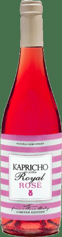 Envío gratis | Vino rosado Meoriga Kapricho Rosé D.O. León España Prieto Picudo Botella 75 cl