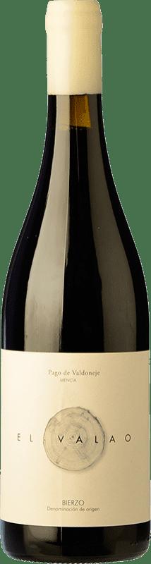9,95 € Envío gratis | Vino tinto Valtuille Valao D.O. Bierzo España Mencía Botella 75 cl