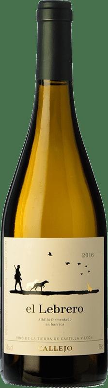 Envio grátis | Vinho branco Callejo El Lebrero D.O. Ribera del Duero Espanha Albillo Garrafa 75 cl