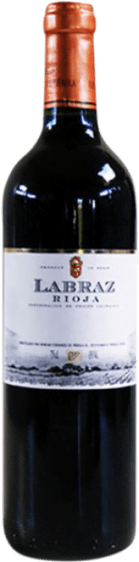 Free Shipping | Red wine Piérola Labraz Joven D.O.Ca. Rioja Spain Tempranillo Bottle 75 cl