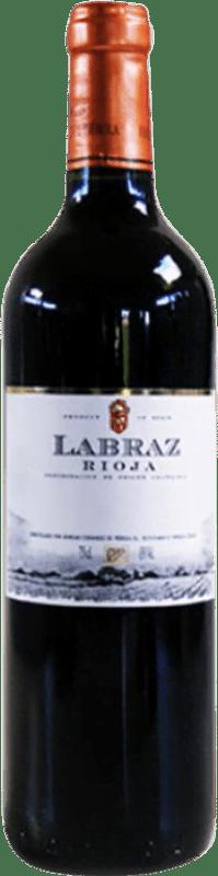 Envío gratis | Vino tinto Piérola Labraz Joven D.O.Ca. Rioja España Tempranillo Botella 75 cl