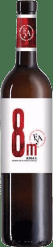 Vino rosso Piérola 8 m D.O.Ca. Rioja Spagna Tempranillo Bottiglia 75 cl