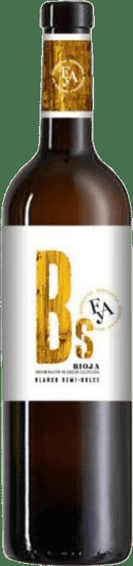 Envío gratis | Vino blanco Piérola Bs D.O.Ca. Rioja España Viura, Malvasía Botella 75 cl