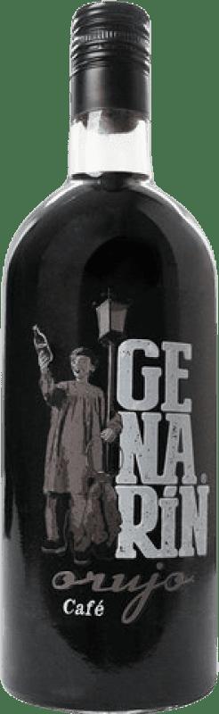 Envio grátis | Cachaça Genarín Café Espanha Garrafa 70 cl