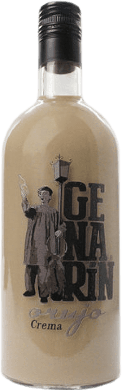 Kostenloser Versand | Cremelikör Genarín Crema de Orujo Spanien Flasche 70 cl