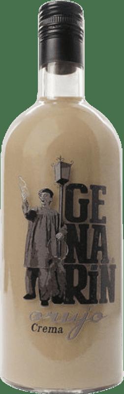 Envio grátis | Licor Creme Genarín Crema de Orujo Espanha Garrafa 70 cl
