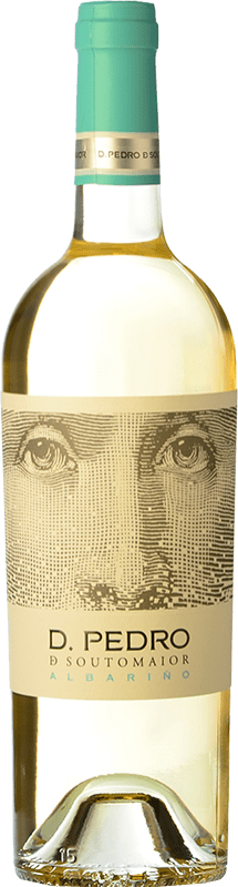 Envío gratis | Vino blanco Adegas Galegas Don Pedro de Soutomaior D.O. Rías Baixas España Albariño Botella 75 cl