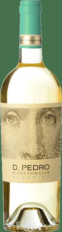 Free Shipping | White wine Adegas Galegas Don Pedro de Soutomaior D.O. Rías Baixas Spain Albariño Bottle 75 cl